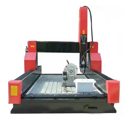 Stone CNC Carving Machine for Marble Granite with Rotary