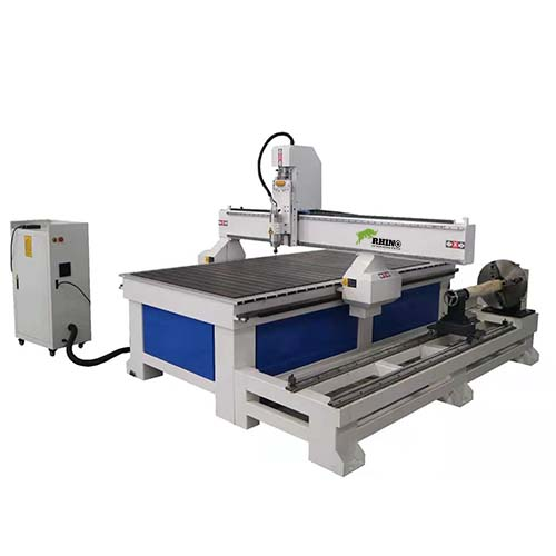 Rotary CNC Router Machine for Wood 4x8ft
