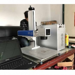 Portable Fiber Laser Marker for Metal 20W