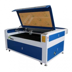 Best Double Heads Co2 Laser Cutting Machine for Fabric Cloth Leather