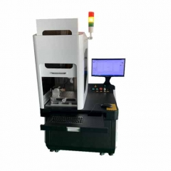 50w Fiber Laser Marking Machines with Auto Focus for Gold Silver Cutting